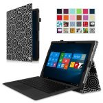 Fintie Microsoft Surface Pro 4 Case - Premium PU Leather Folio Cover with Stylus Holder for Surface Pro 4