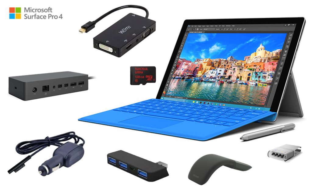 Must Have Microsoft Surface Pro 4 Accessories