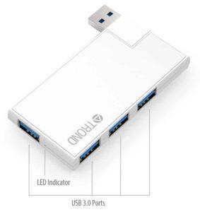 TROND Super Slim USB Hub 3.0 for Microsoft Surface
