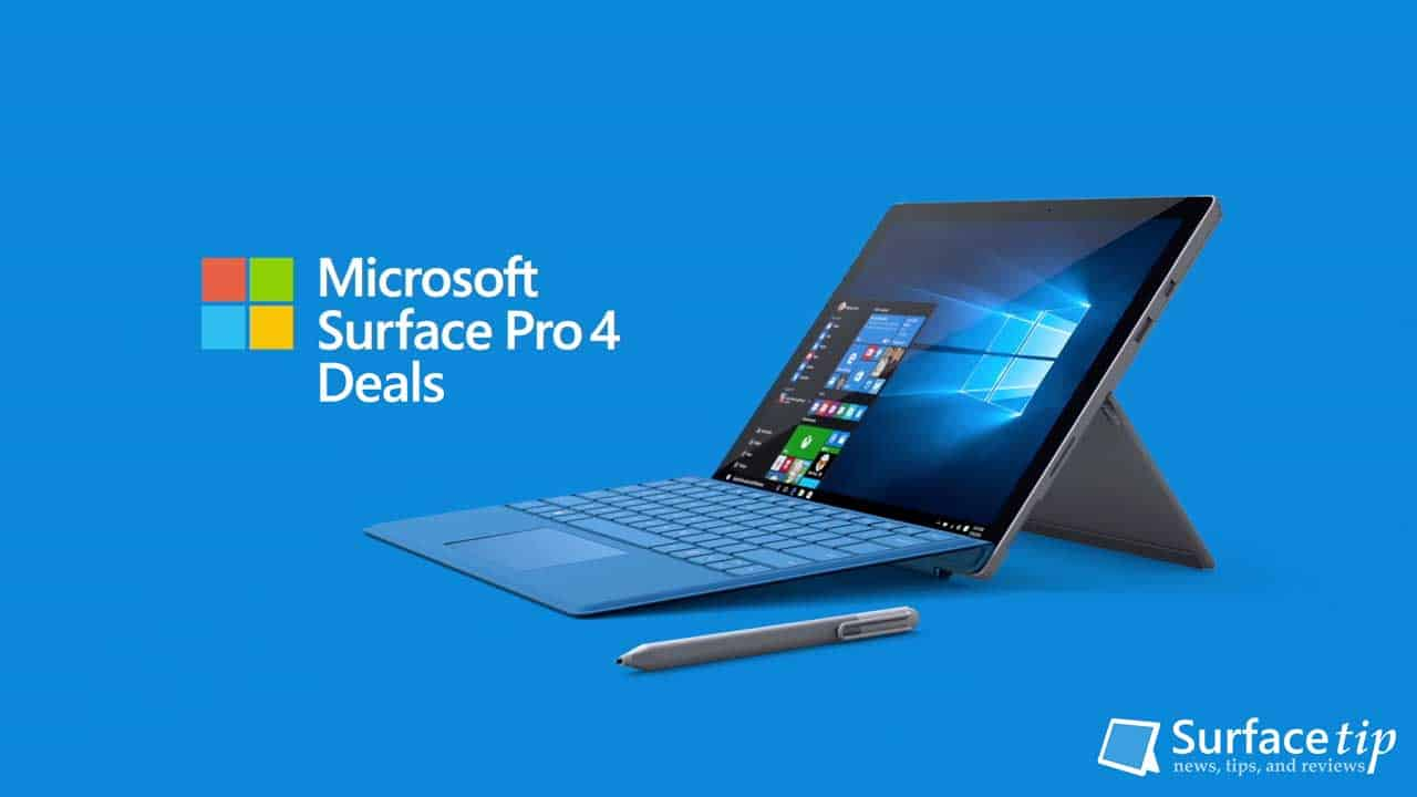 Microsoft Surface Pro 4 Deals