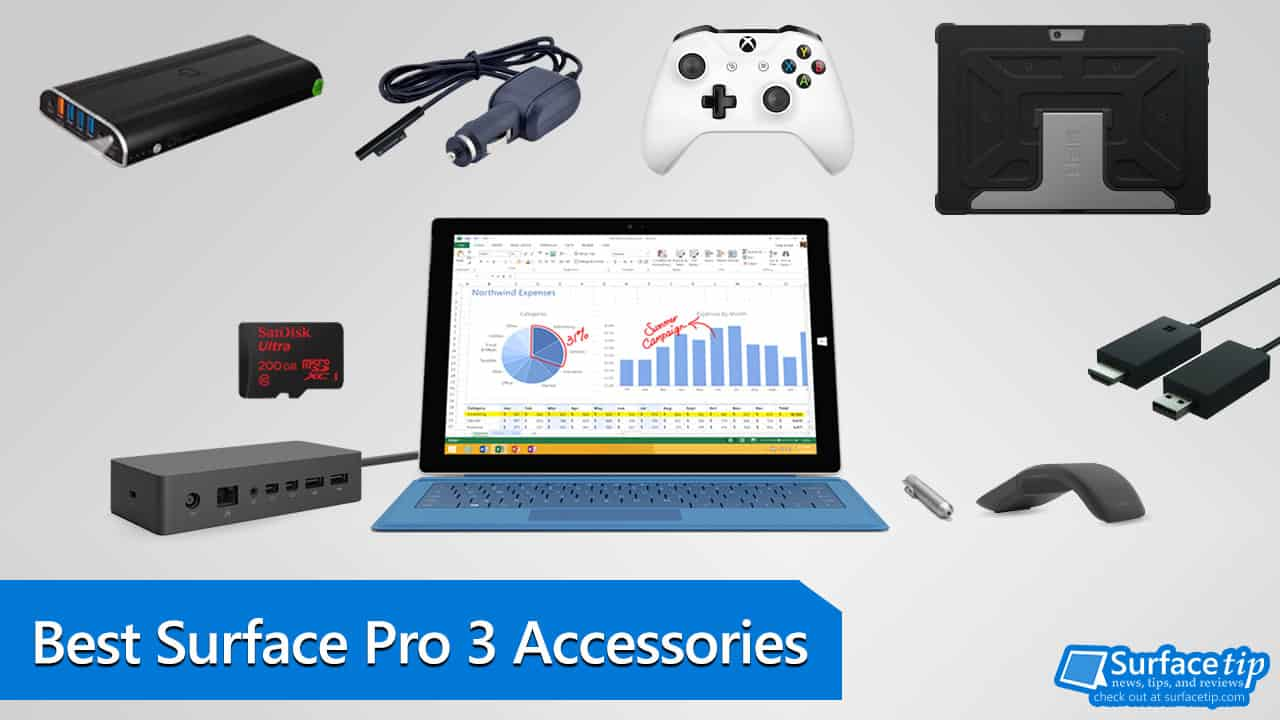 Best Surface Pro 3 Accessories