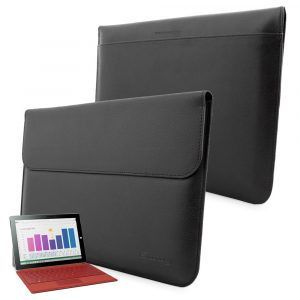 Snugg Leather Sleeve Case for Microsoft Surface 3