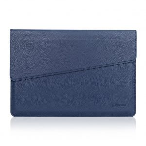 Microsoft Surface 3 Sleeve, Evecase Slim Envelope Sleeve Leather Case For Microsoft Surface 3 10.8inch Tablet - Indigo Blue