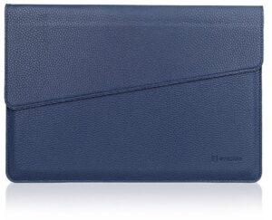 Microsoft Surface 3 Sleeve, Evecase Slim Envelope Sleeve Leather Case For Microsoft Surface 3 10.8inch Tablet - Indigo Blue