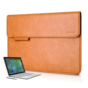 Tomtoc Surface Book Sleeve Case made from PU Leather