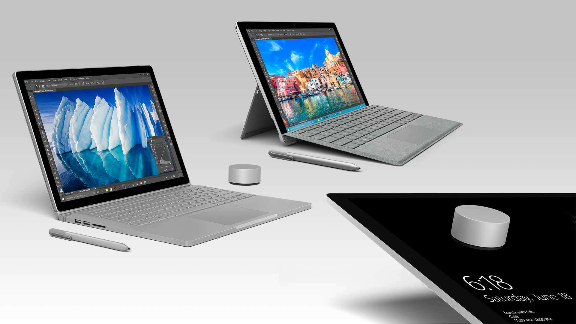 upcoming firmware update will let surface dial work direct on the screen with surface pro 4 and. Black Bedroom Furniture Sets. Home Design Ideas