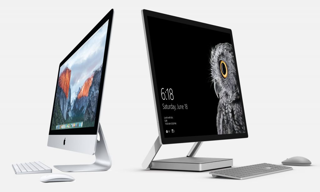Surface Studio vs iMac