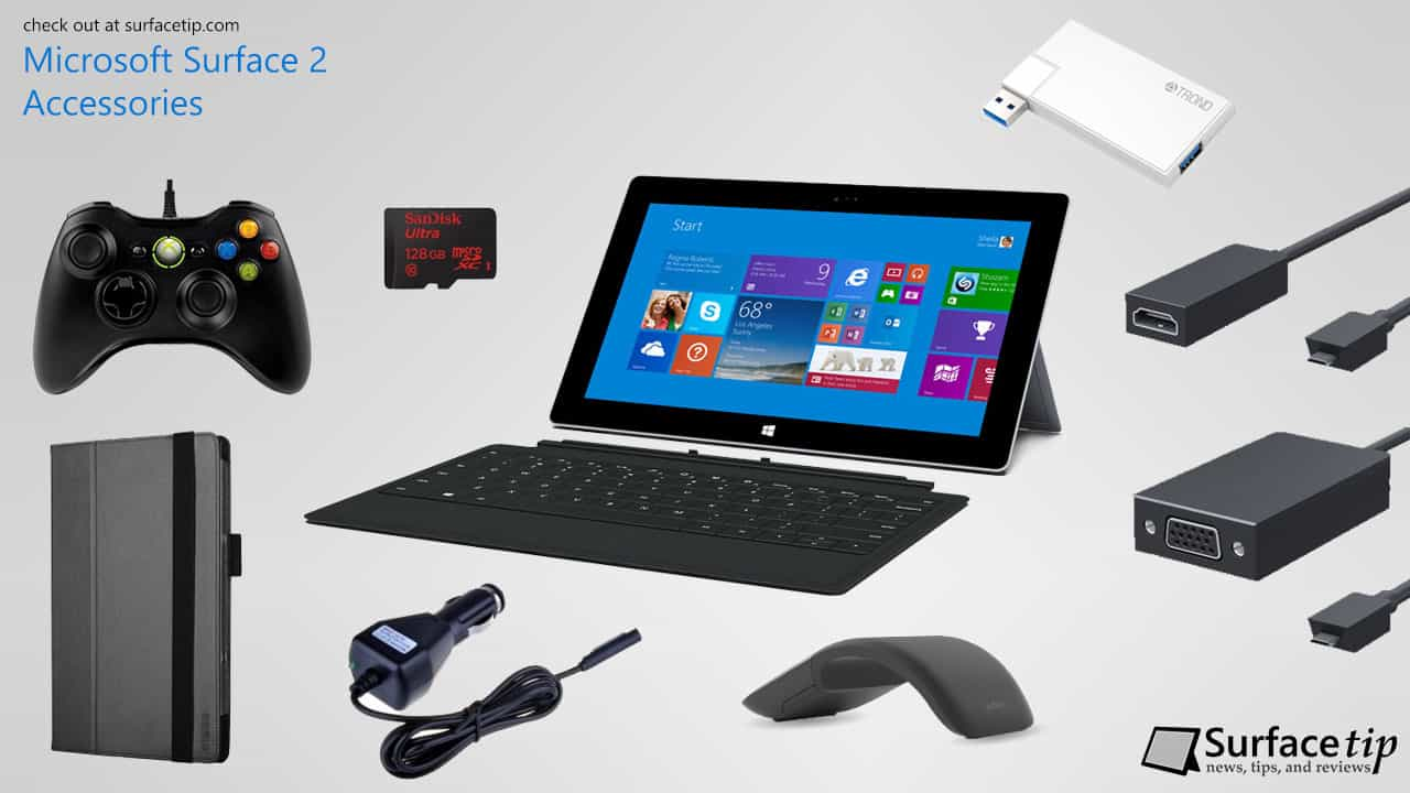 Best Microsoft Surface 2 Accessories