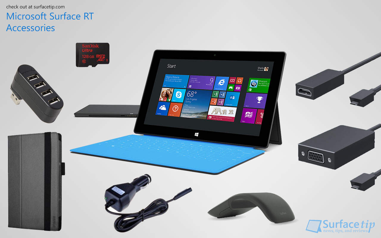 Best Microsoft Surface RT Accessories