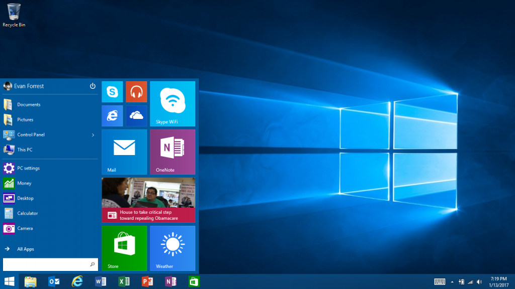 Surface RT the Start Menu is Back