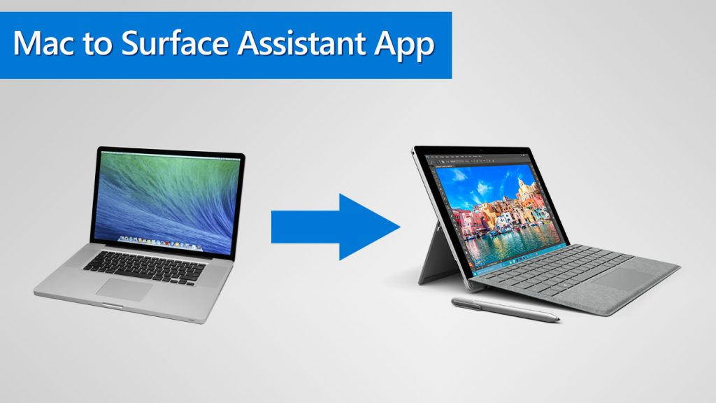 Mac to Surface Assistant App