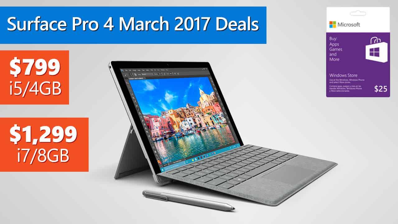 Microsoft surface deals