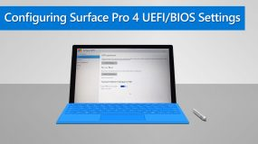 How to Configure Surface Pro 4 UEFI/BIOS Settings