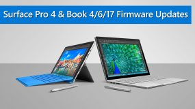 Firmware Updates for SP4 & SB with Creators Update