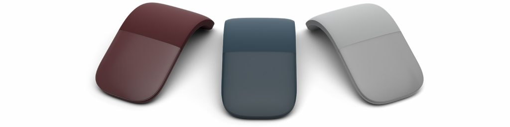 Surface Arc Mouse in 3 colors