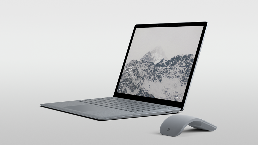 Surface Laptop Silver