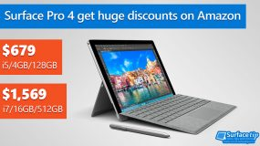 Surface Pro 4 get a huge discount on Amazon