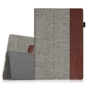 Premium PU Leather Folio Stand Cover