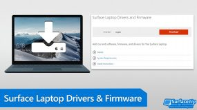 Surface Laptop Drivers and Firmware Download