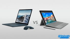Surface Laptop vs Surface Pro 4