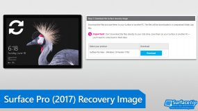 How to download Surface Pro (2017) Recovery Image