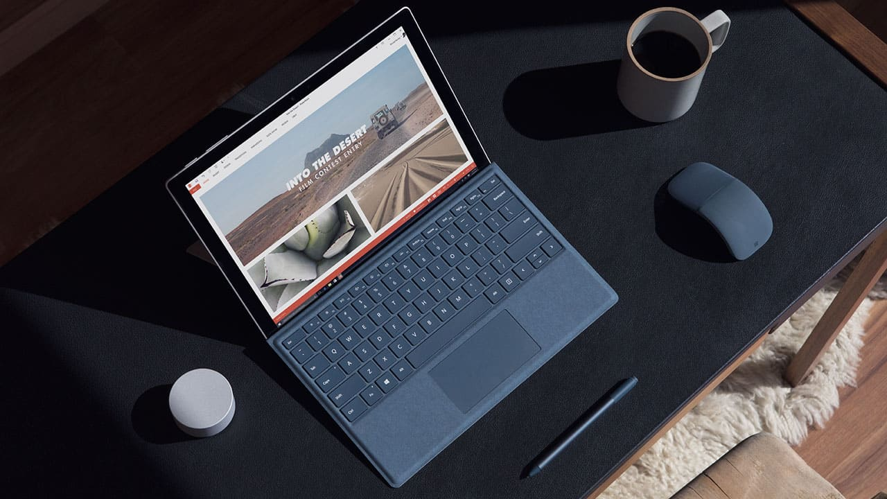 The new Surface Pro 2017 at Work