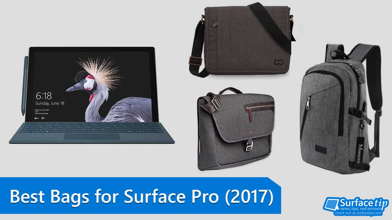 ab8b98f88e36 The Best Bags for the new Surface Pro you can buy in 2019