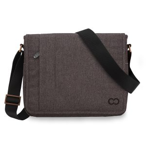 CaseCrown Horizontal Campus Messenger Bag for Microsoft Surface Pro & Surface RT, Brown