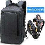 LAPACKER Lightweight Slim Business Laptop Backpack for Men Water Resistant Computer Backpacks 17 Inch Traveling Bags in Black
