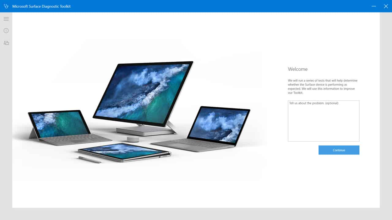 Microsoft Diagnostic Toolkit app in Windows Store