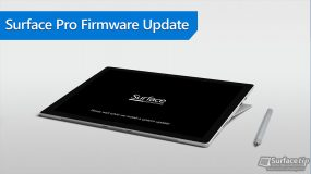 Surface Pro (2017) Firmware Update