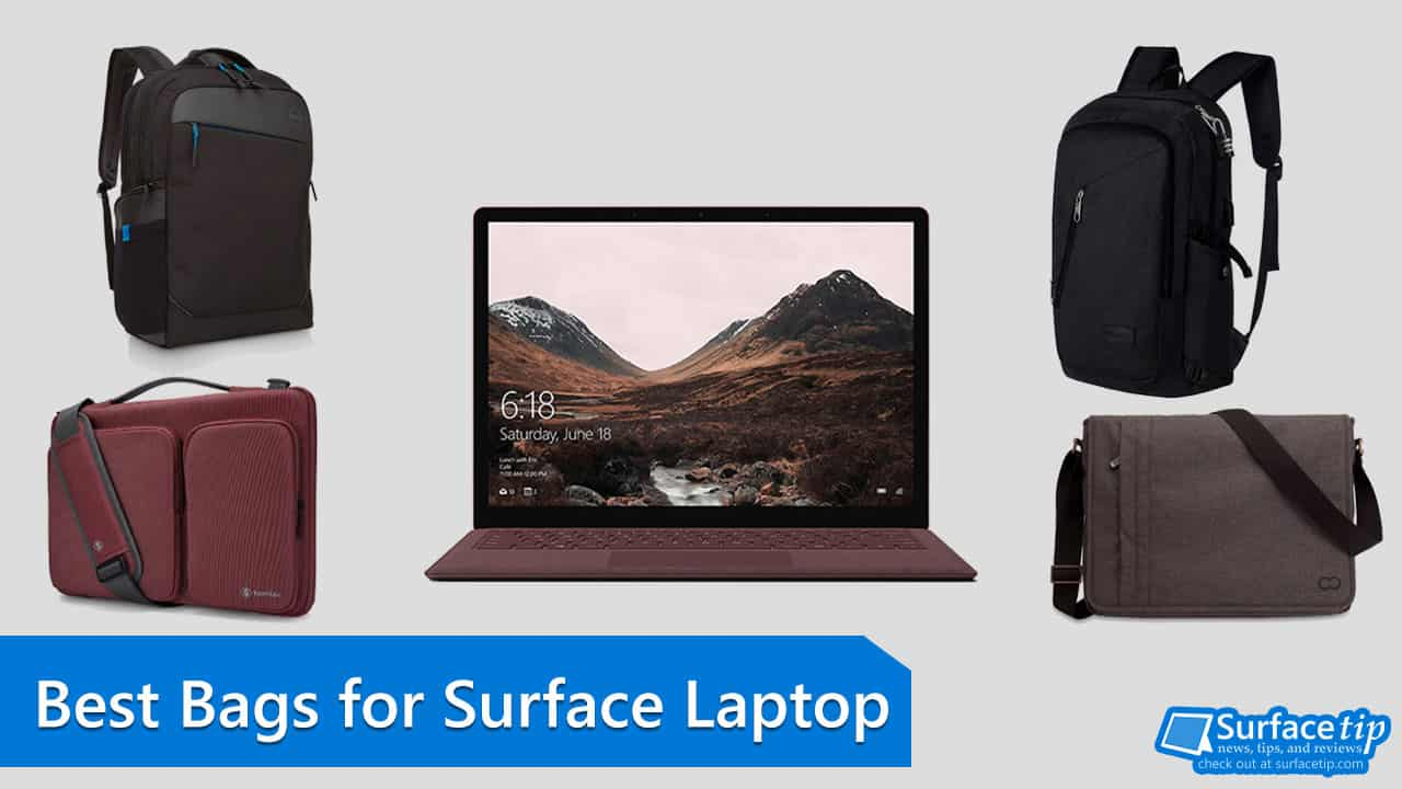 Best Surface Laptop Bags, Backpacks, and Briefcases