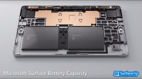 Microsoft Surface battery capacity – a complete list