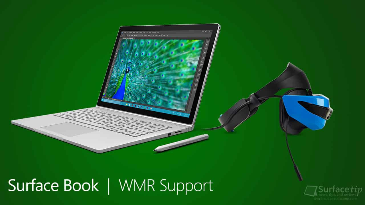 Windows Mixed Reality Support on original Surface Book
