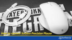How to connect the Microsoft Surface Precision Mouse to your Computer