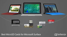 Best MicroSD Cards for Microsoft Surface