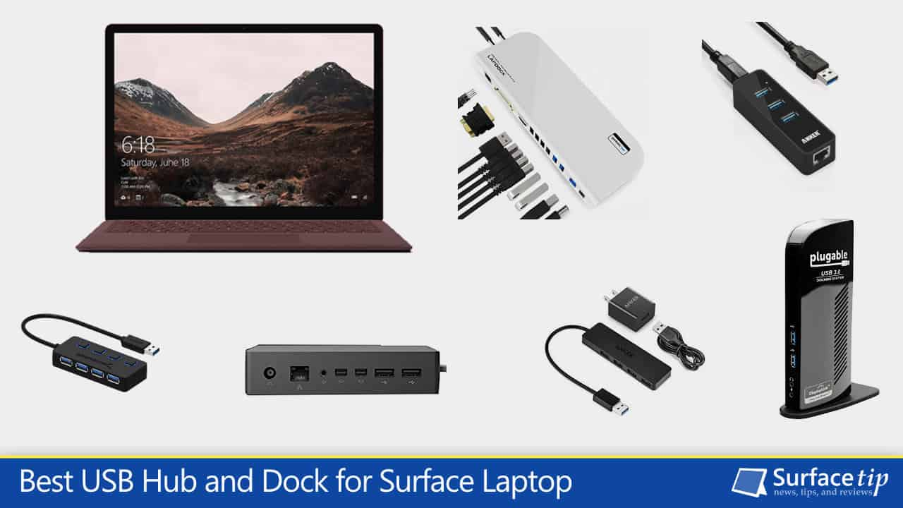 Best Surface Laptop USB Hubs and Docking Stations