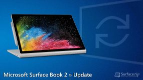 Microsoft Surface Book 2 Update