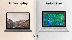 Surface Laptop vs. Surface Book detailed specs comparison