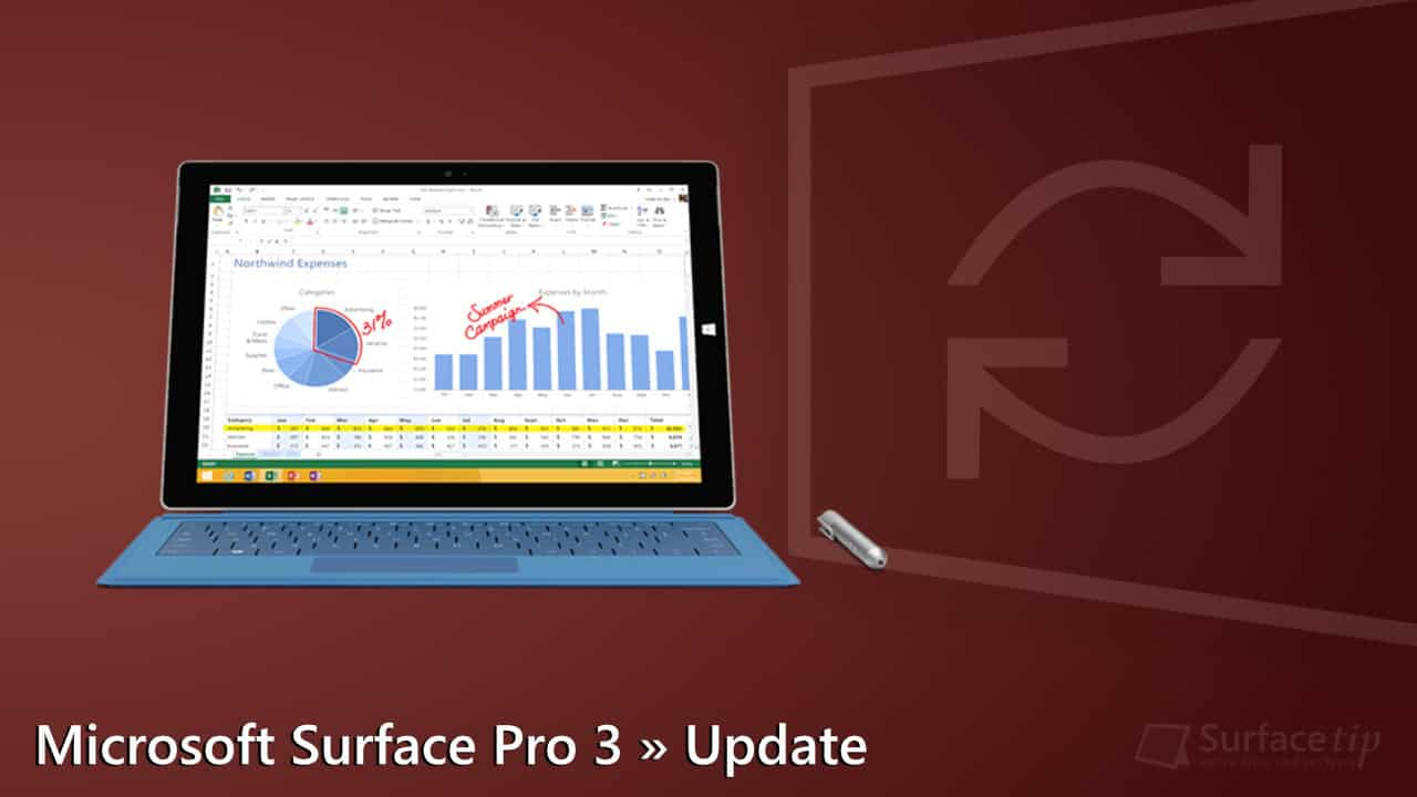 microsoft surface updates