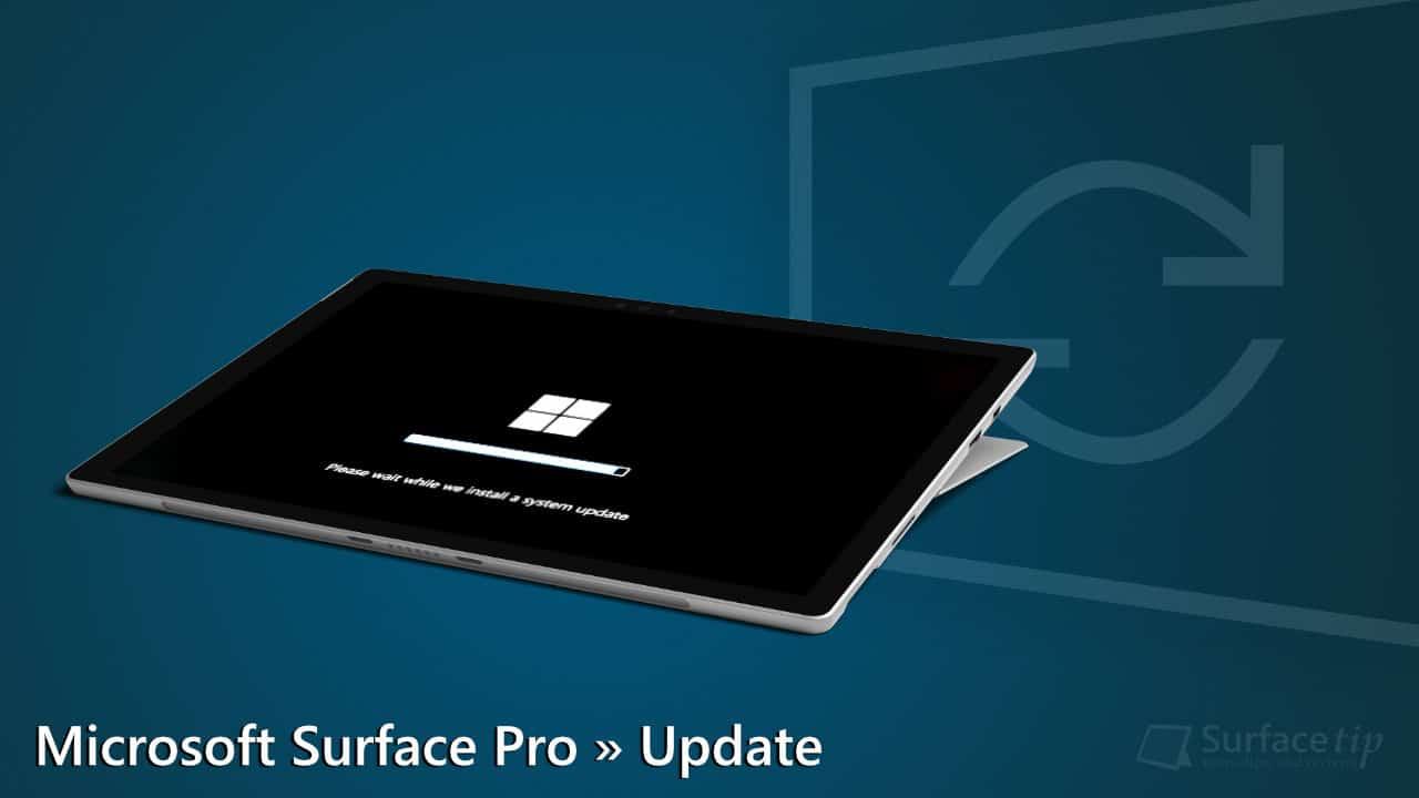 Microsoft Surface Pro Firmware Update