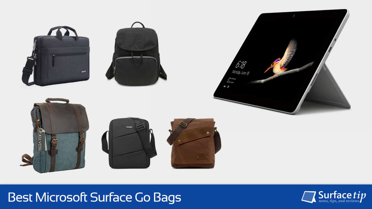 Best Bags for Microsoft Surface Go