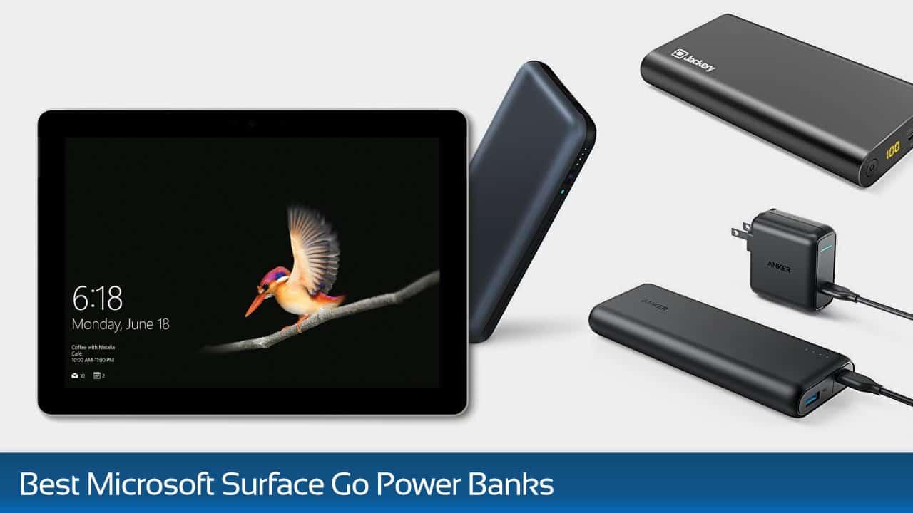 Best Battery Packs for Microsoft Surface Go