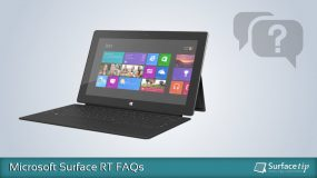 Microsoft Surface RT FAQs