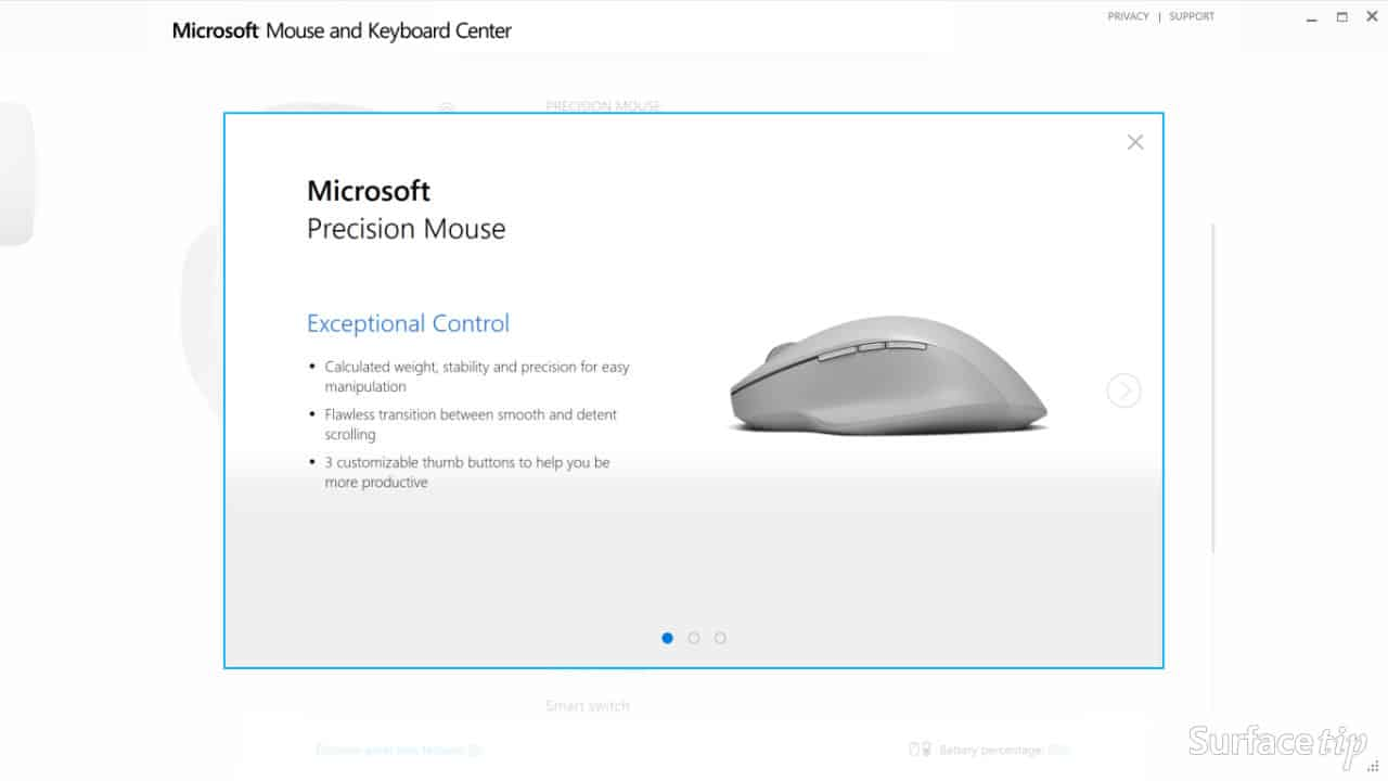 Download & Install Microsoft Mouse and Keyboard Center Step 07