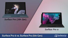 Surface Pro 6 vs. Surface Pro (5th Gen) – Detailed Specs Comparison
