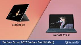Surface Go vs. Surface Pro (5th Gen) – Detailed Specs Comparison