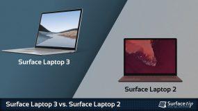 Surface Laptop 3 vs. Surface Laptop 2