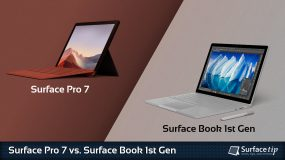Surface Pro 7 vs. Surface Book 1