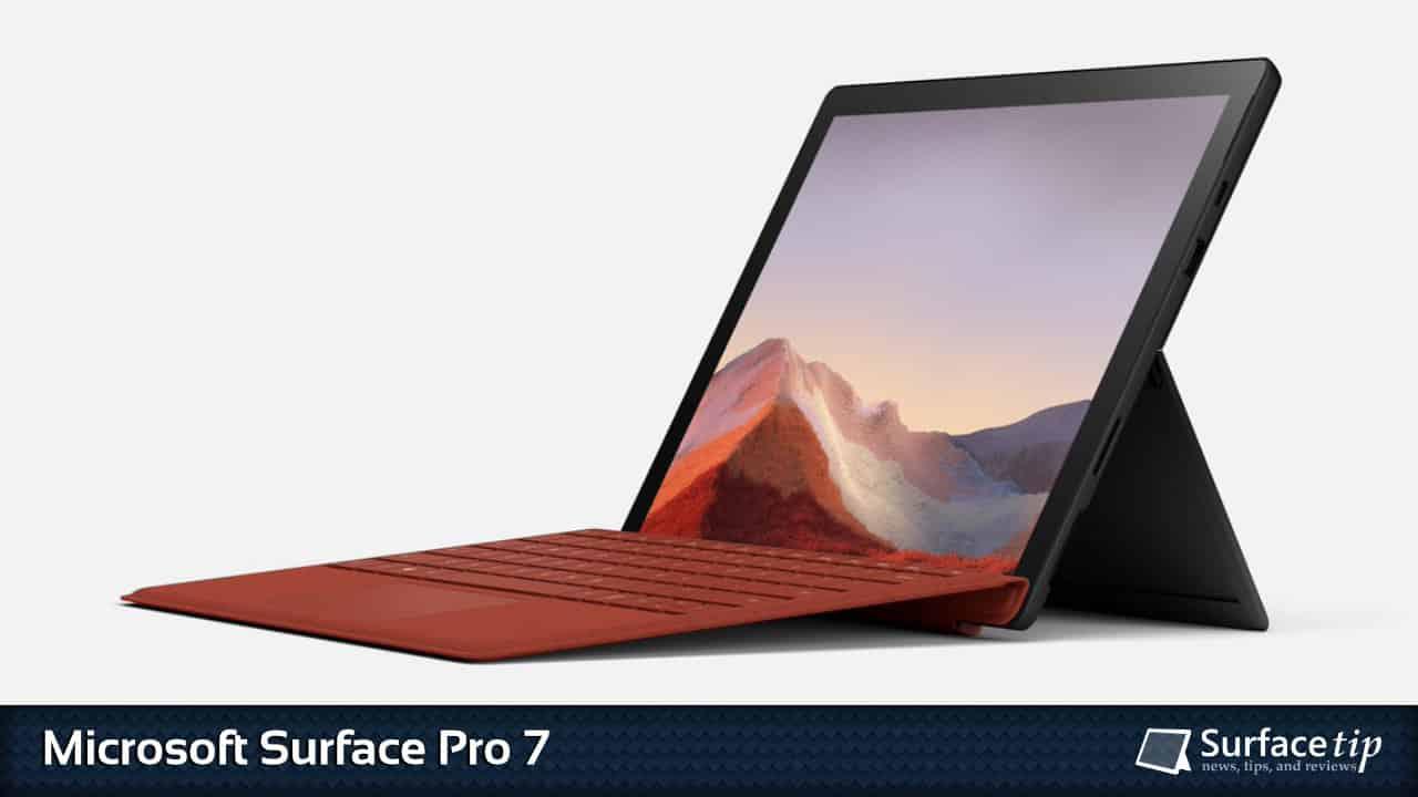 Microsoft Surface Pro 7 Specs